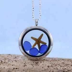 Sea glass jewelry for sale 100 guarantee shop now sea glass jewelry for sale sea glass pendant floating locket with sterling silver aloadofball Gallery