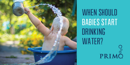When Should Babies Start Drinking Water?