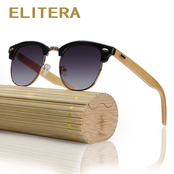 ELITERA Retro Bamboo Wood Unisex