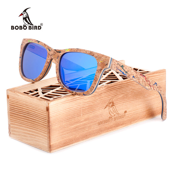 BOBO BIRD Luxury Polarized For Men