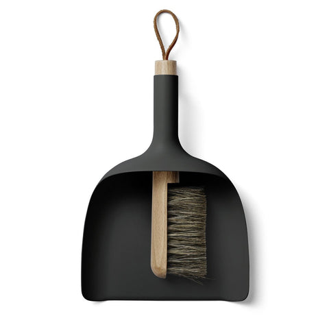 Ceramic Dustpan & Brush
