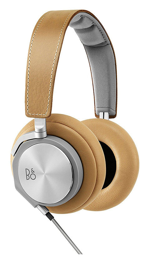Saddle Brown Leather Headphones