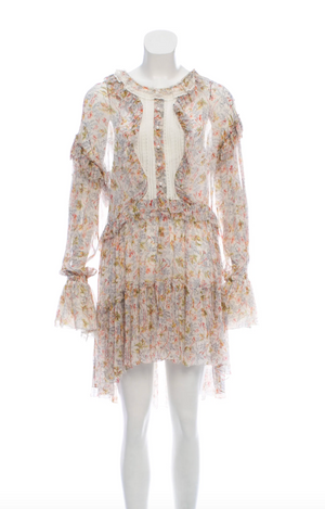 Philosophy Di Lorenzo Serafini Floral Pleated Dress