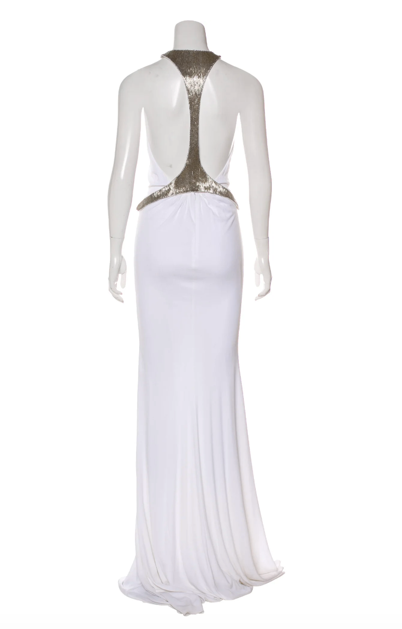 Emilio Pucci Sleeveless Embellished Gown