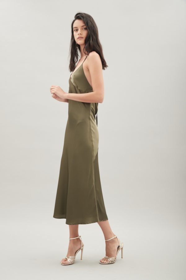 Hansel & Gretel Summer Silk Slip Dress side