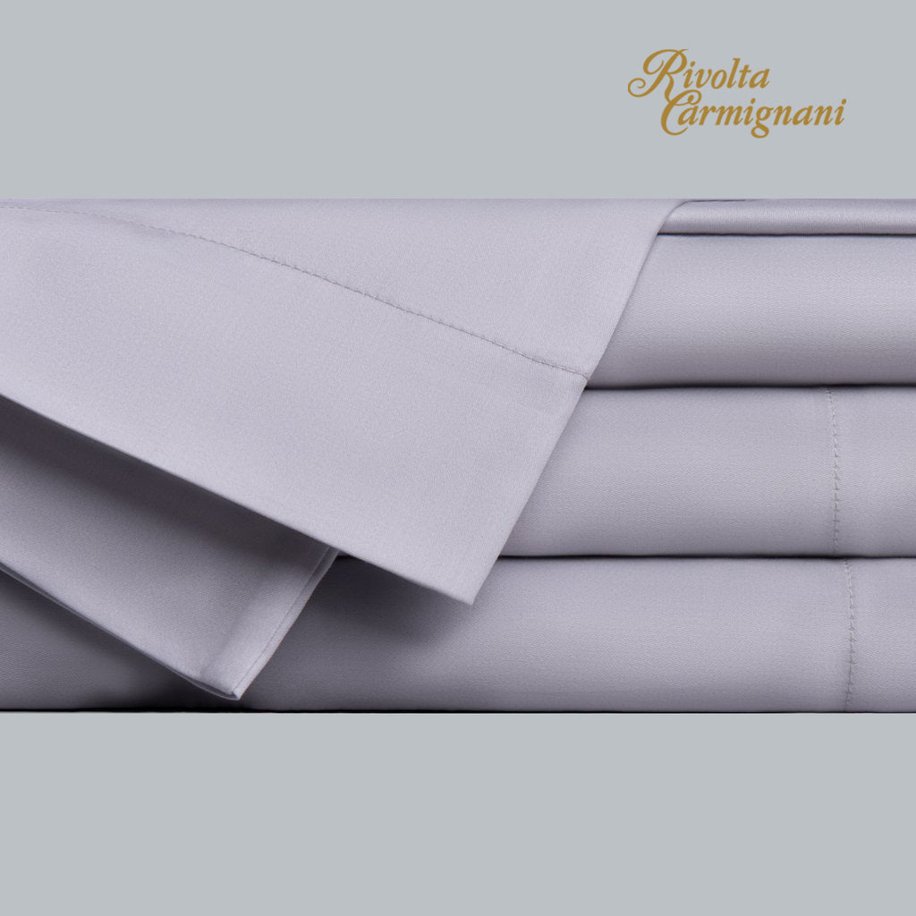 Flat Sheet Sateen 300TC Gray