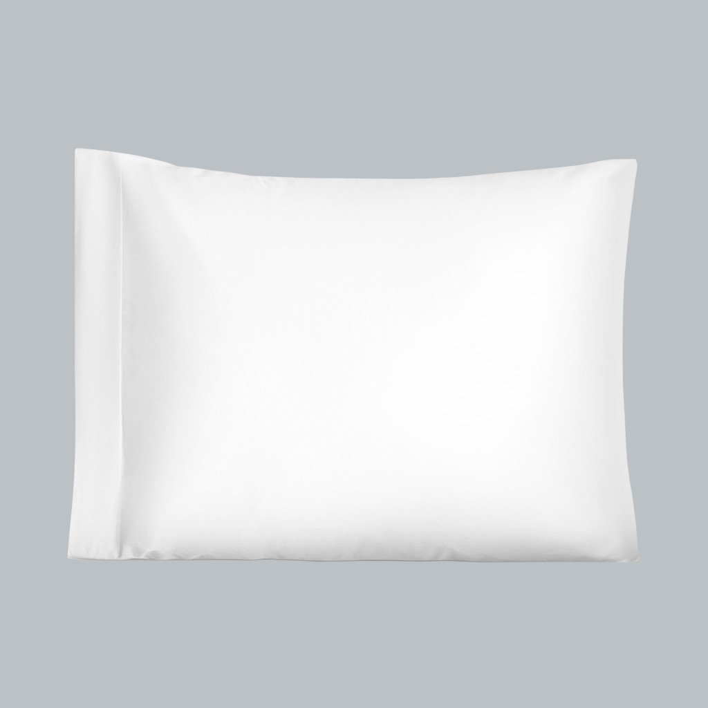 Pillowcase Sateen 300TC White