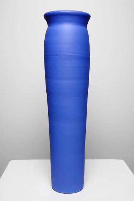 Tall Majorelle Blue Vase 211