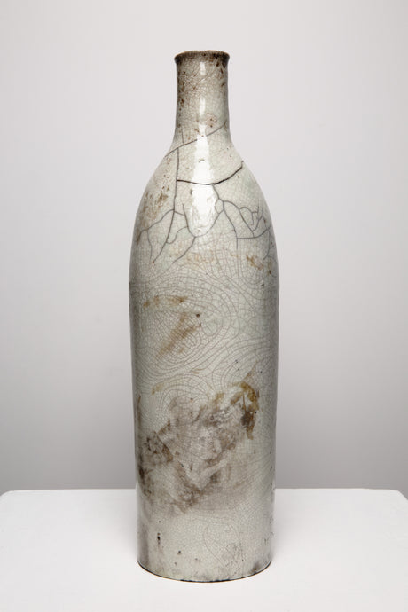 Majorelle Raku Bottle Vase 223