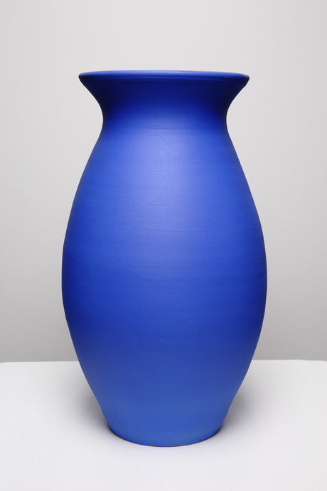 Majorelle Blue, Big Bellied Vase 236