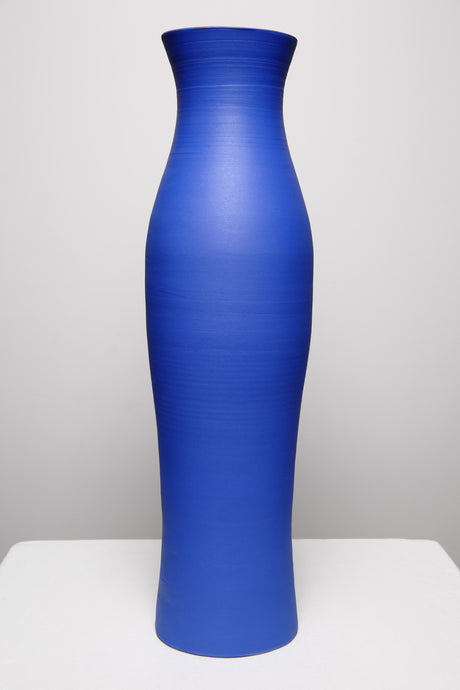 Tall Majorelle Blue Vase