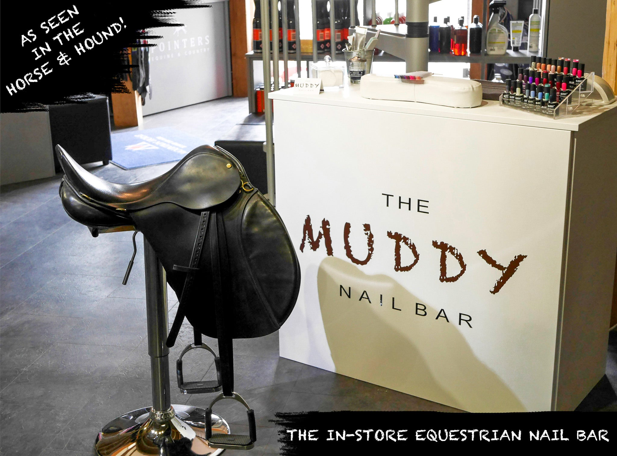 The Muddy Nail Bar – POINTERS EQUINE & COUNTRY