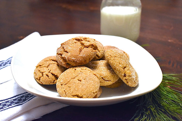 Chewy Ginger Snaps Cookie Recipe Batistini Farms