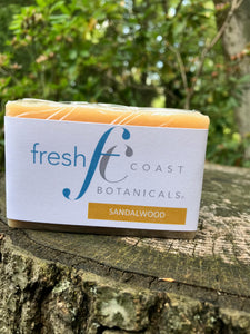 Sandalwood Cold Process Soap
