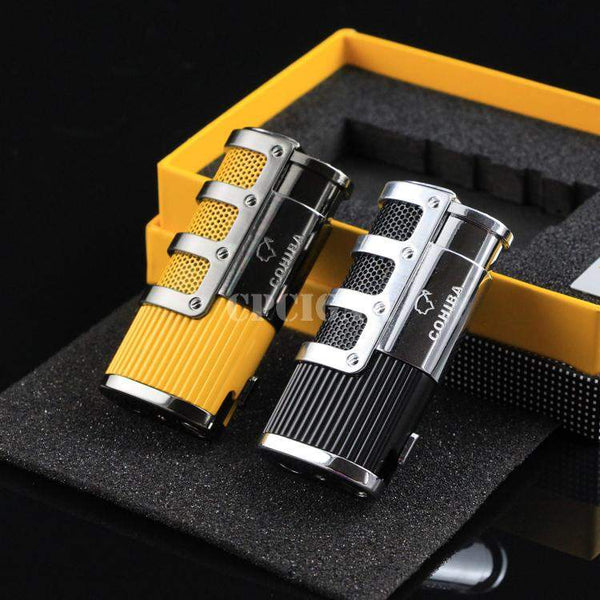 COHIBA 3 Torch Lighter-cigaraccessories
