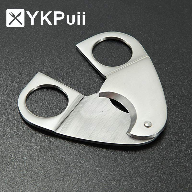 Stainless Steel Double Twin Blade Cigar Cutter-cigaraccessories
