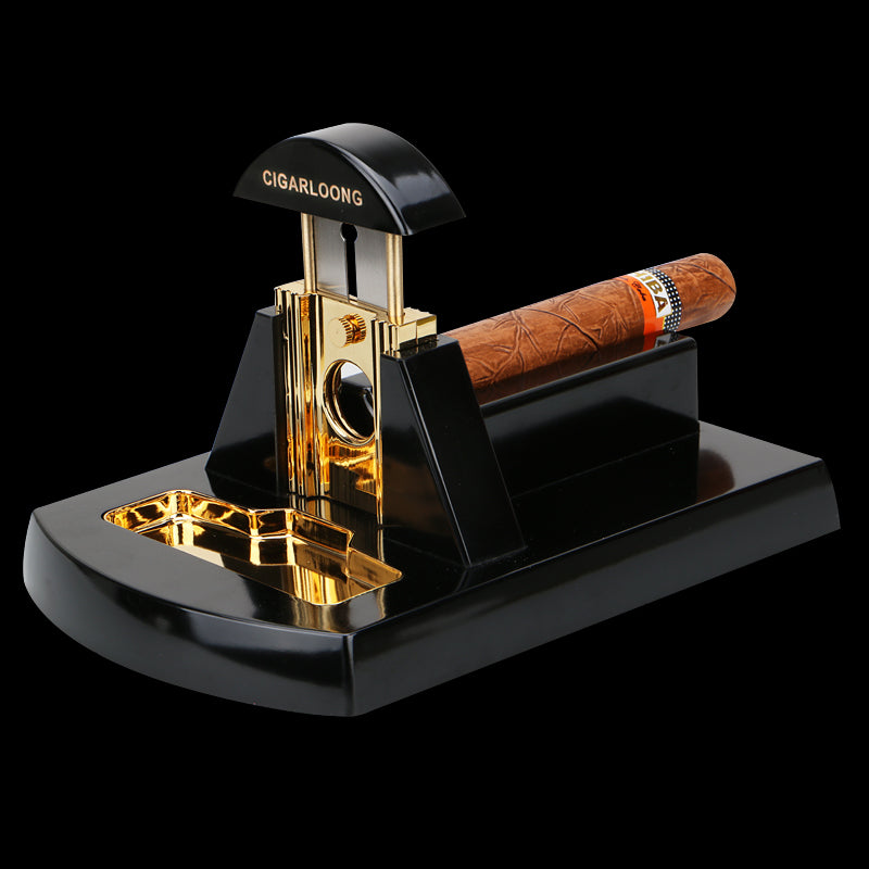 Luxury Desk Type Cigar Cutter