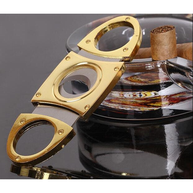 Stainless Steel Pocket Guillotine Cigar Cutter-cigaraccessories