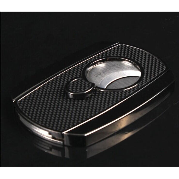 High-end New Product Luxury Carbon Fiber Cigars Cutter-cigaraccessories