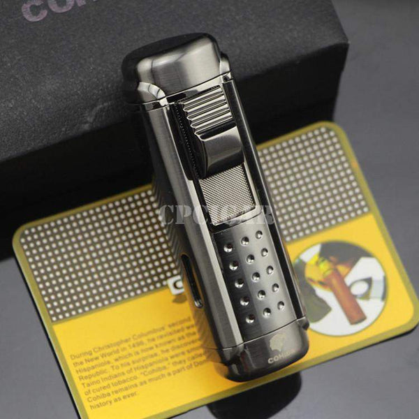 COHIBA Black 4 Red Lighter-cigaraccessories