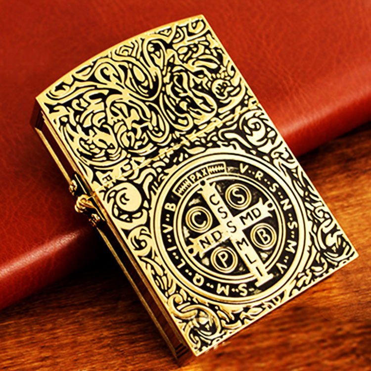 Wholesale Lighter Hand-carved Vintage-cigaraccessories