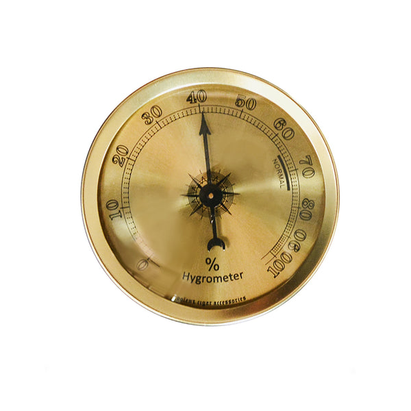 Analog Humidor Hygrometer Aluminium Humidity-cigaraccessories