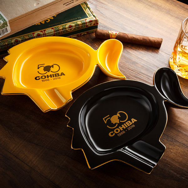 Luxury Classcial COHIBA 50 Anniversary Cigar Ashtray