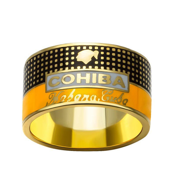 COHIBA Ring Personalized 925 Sterling Silver