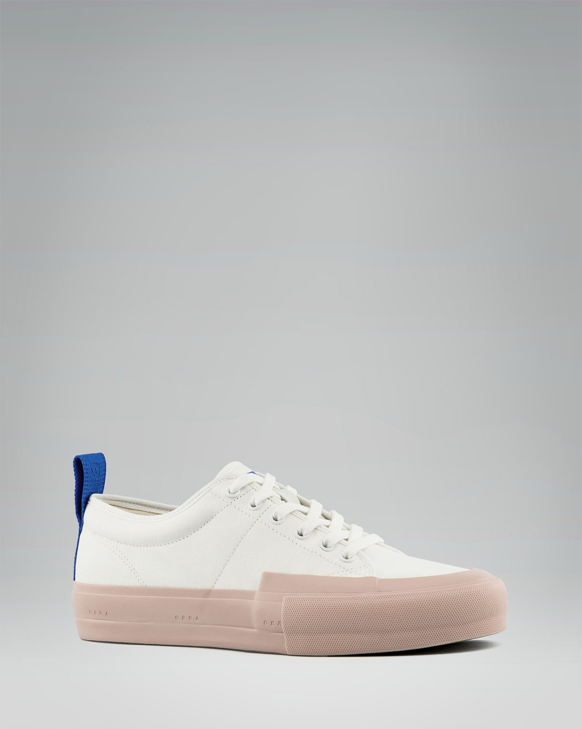240 CANVAS LOW WRAP TOE <br/> White/Rose/OBRA Blue