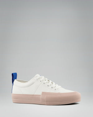 240 CANVAS LOW WRAP TOE<br />White/Rose/OBRA Blue