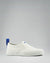240 CANVAS SLIP-ON WRAP TOE<br />White/White/OBRA Blue