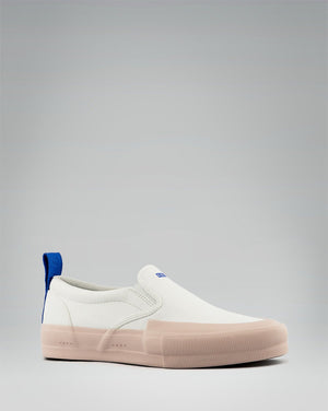 240 CANVAS SLIP-ON WRAP TOE<br />White/Rose/OBRA Blue
