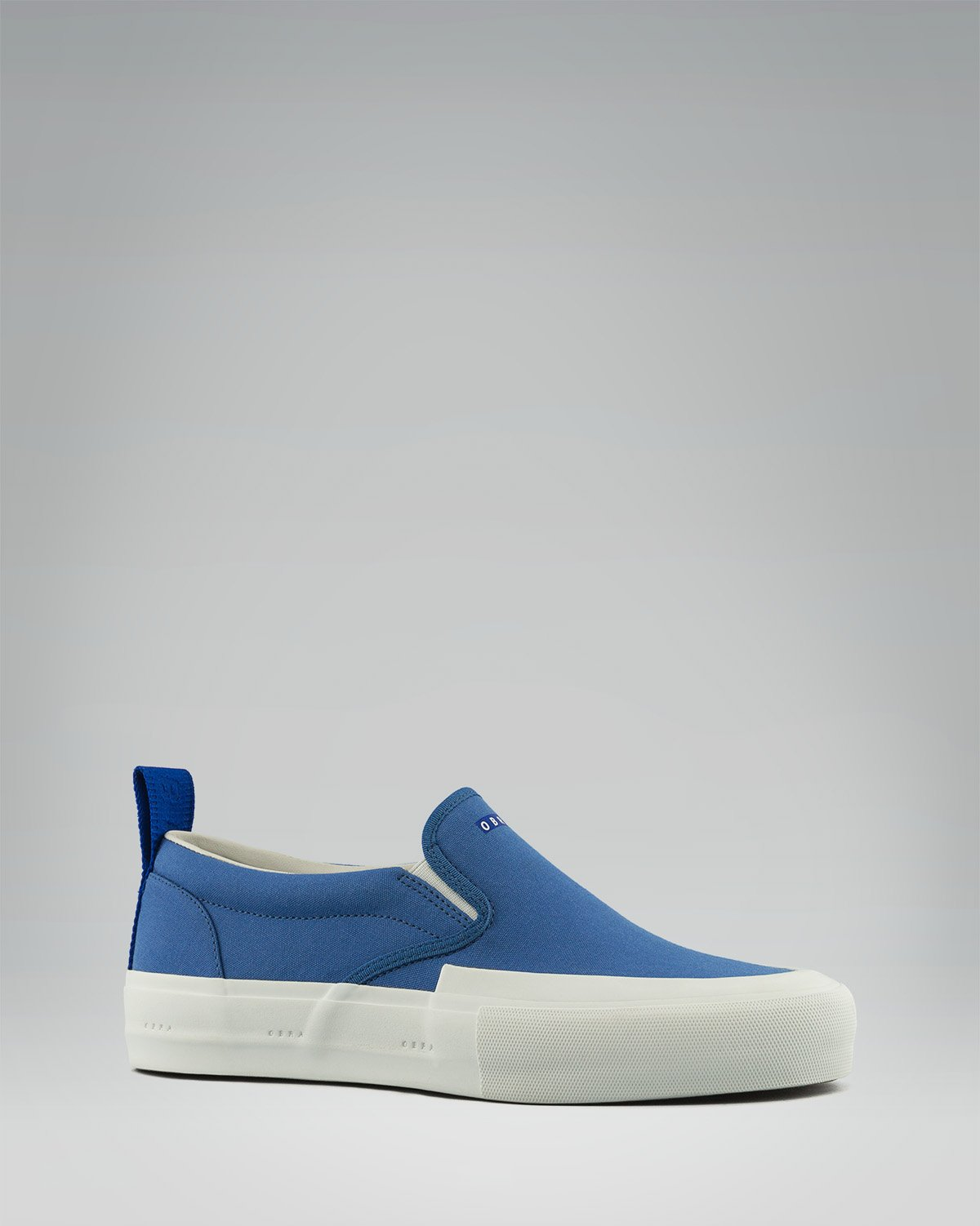 240 CANVAS SLIP-ON WRAP TOE<br />Torres Blue/White/OBRA Blue