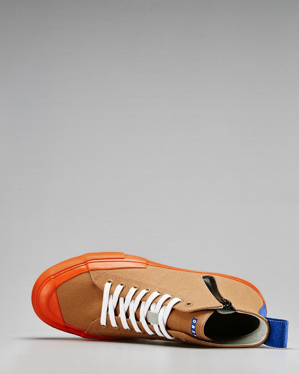 TERRA CANVAS HIGH FULL CAP<br />Brown Sugar/Utility Orange/OBRA Blue