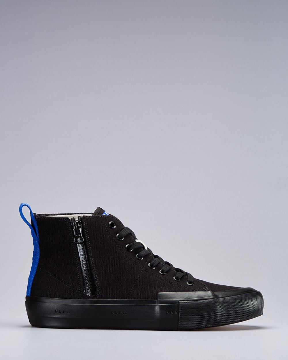 TERRA CANVAS HIGH WRAP TOE <br/> Black/Black/OBRA Blue