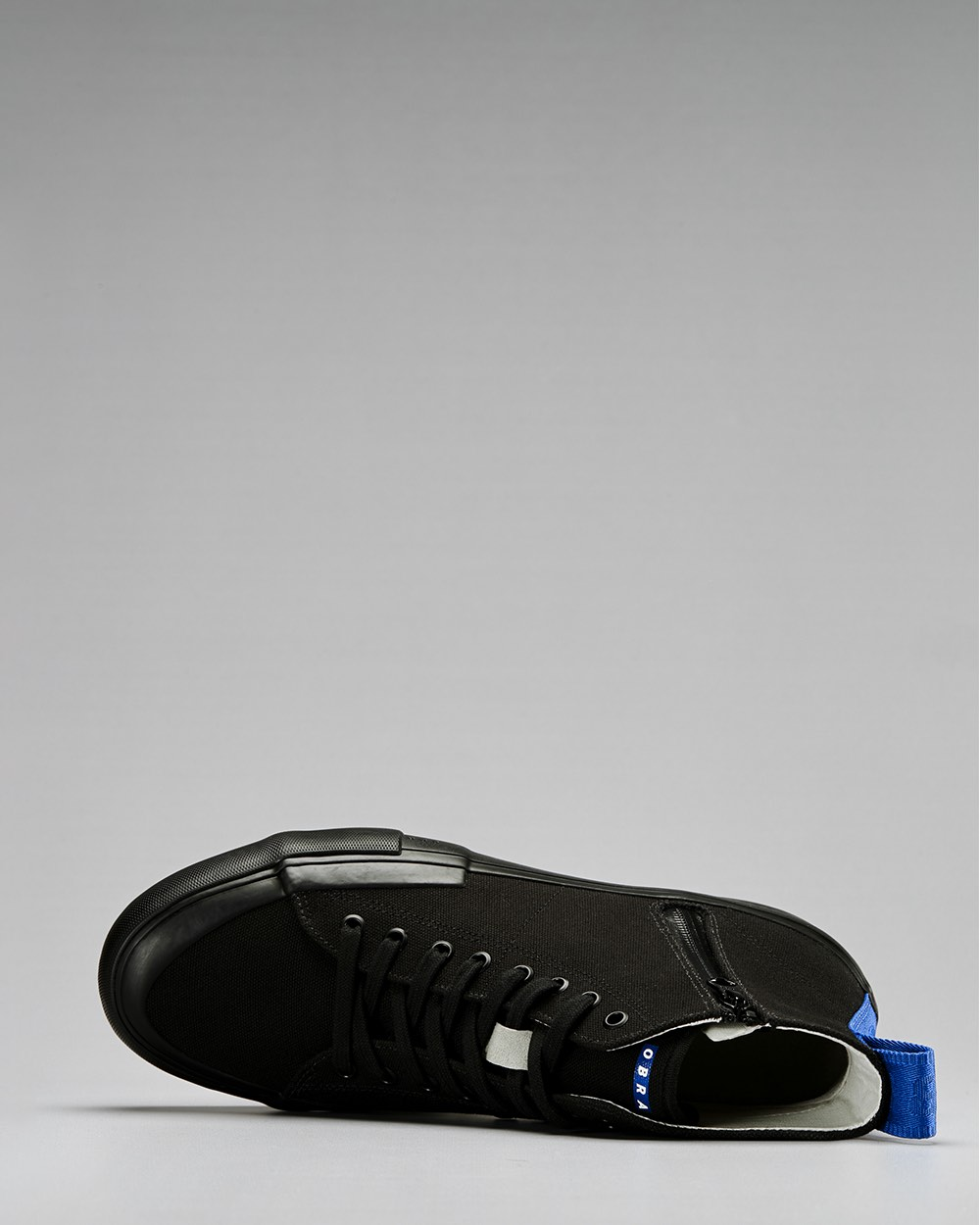 TERRA CANVAS HIGH WRAP TOE<br />Black/Black/OBRA Blue