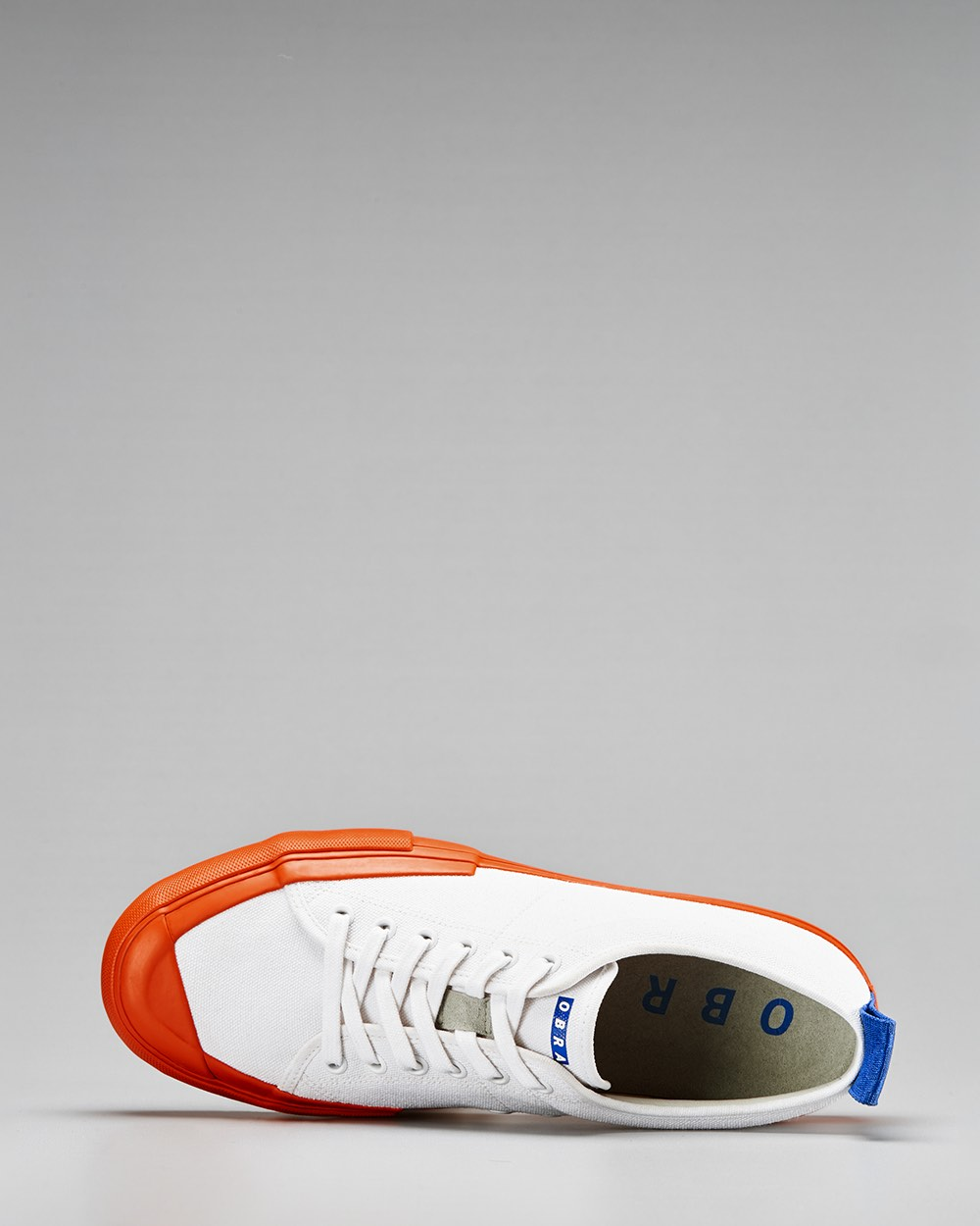 TERRA CANVAS LOW FULL CAP <br/> White/Utility Orange/OBRA Blue