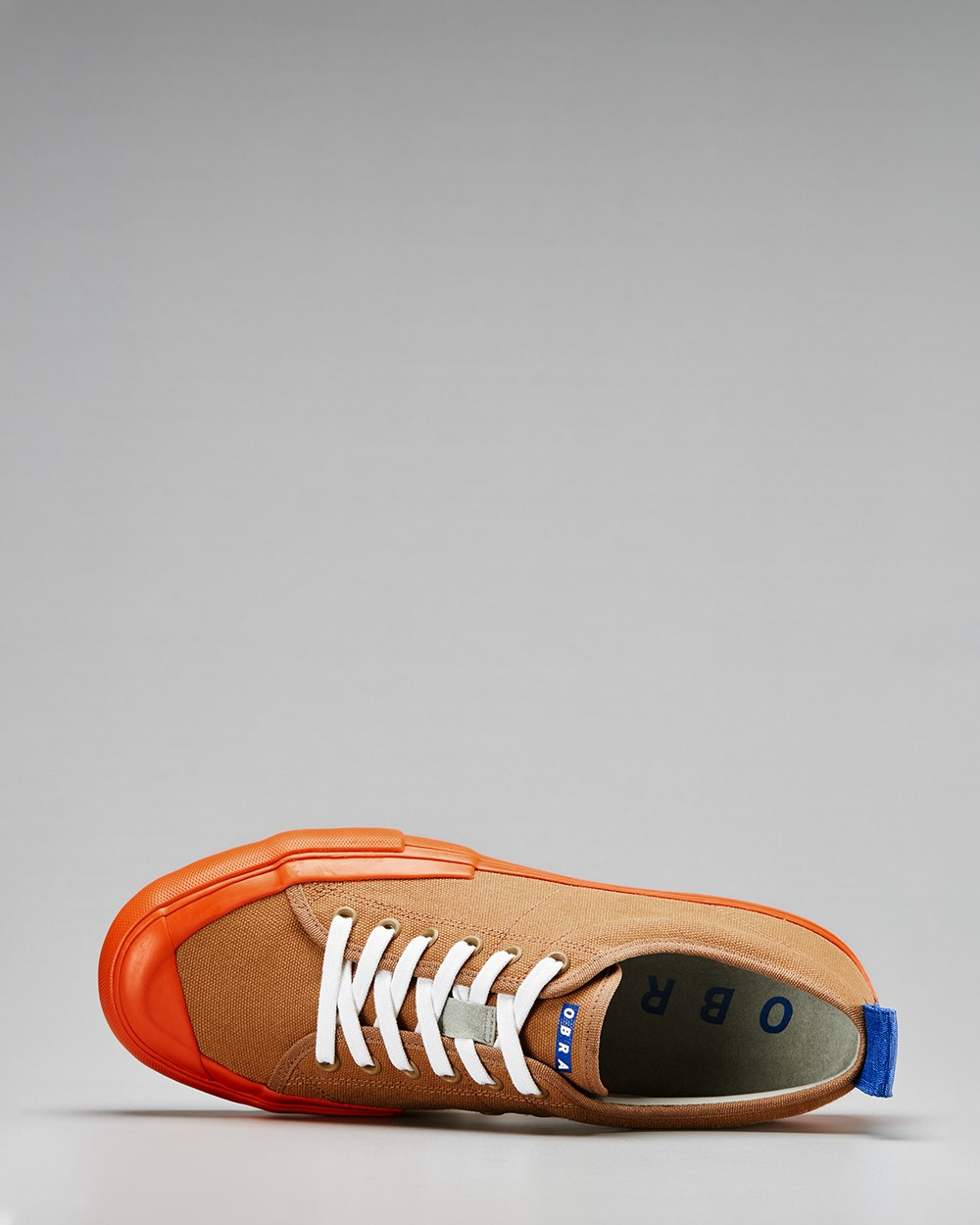 TERRA CANVAS LOW FULL CAP<br />Brown Sugar/Utility Orange/OBRA Blue