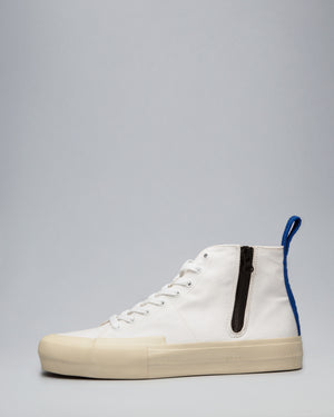 CANVAS HIGH WRAP TOE <br />White/Off-White/OBRA Blue