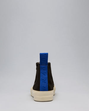 CANVAS HIGH WRAP TOE <br />Black/Off White/OBRA Blue