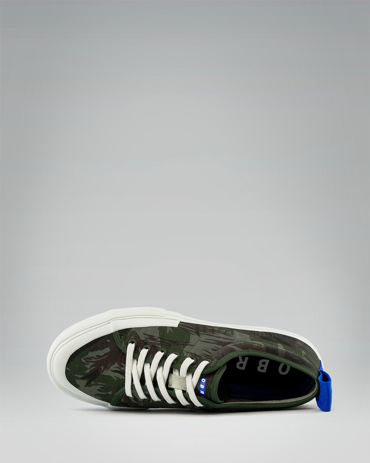 240 CANVAS LOW WRAP TOE<br />Exercito/White/OBRA Blue