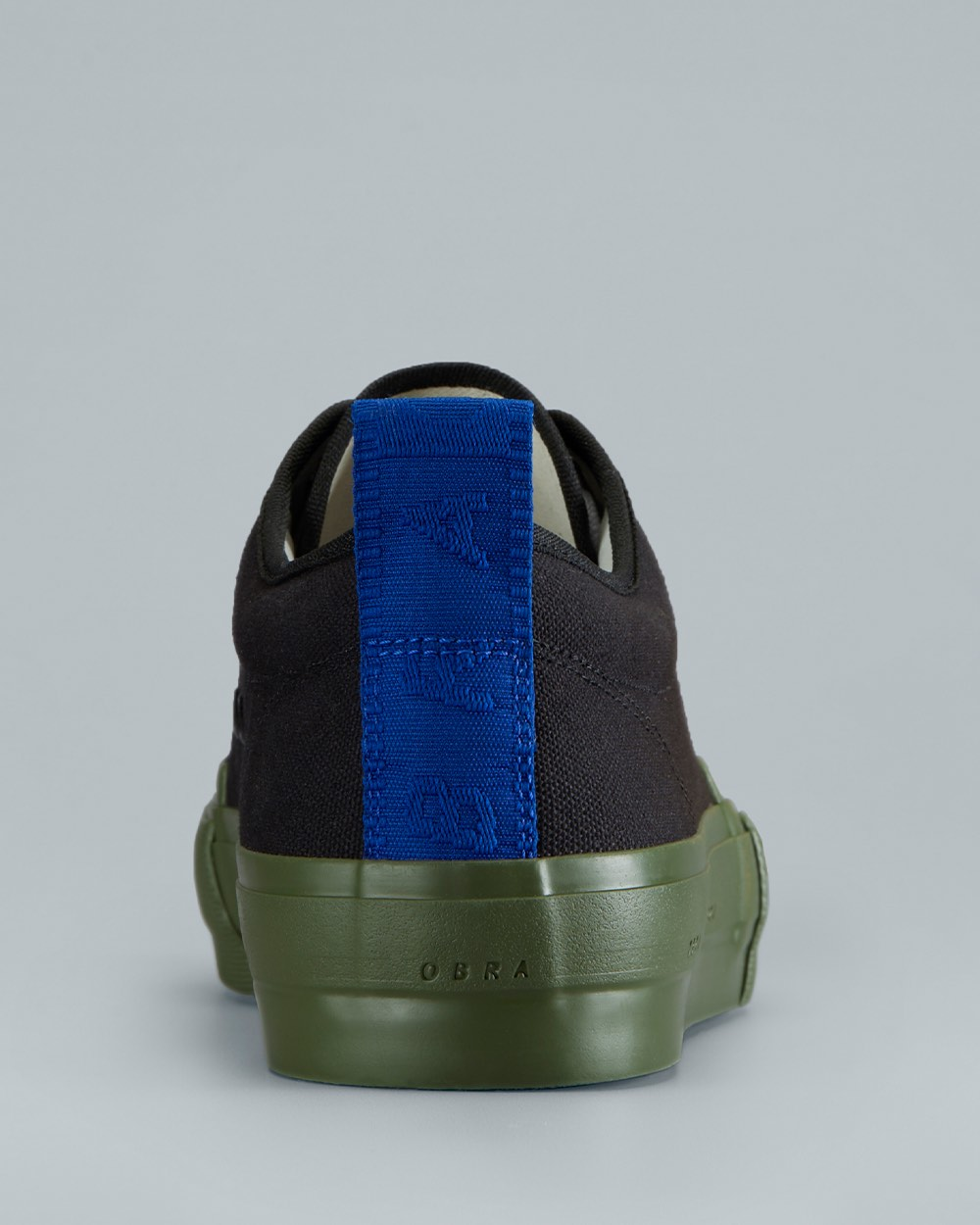 TERRA CANVAS LOW WRAP<br />Black/Army/OBRA Blue