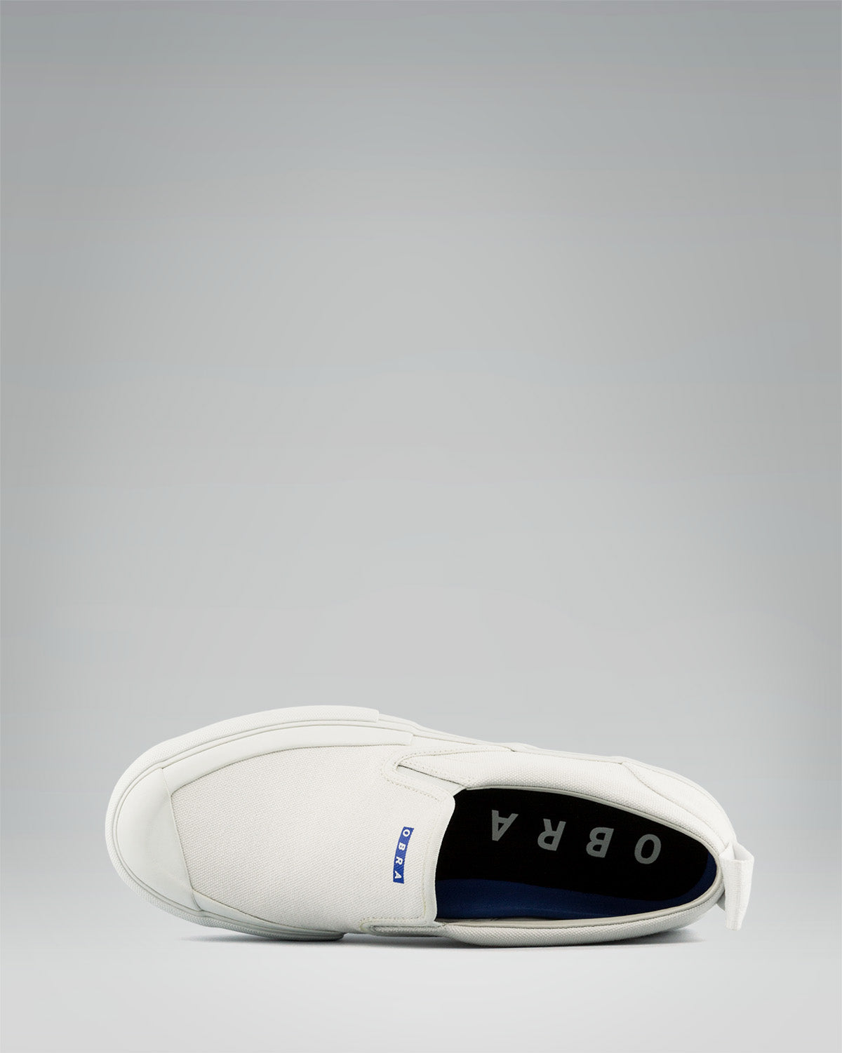 TERRA CANVAS SLIP-ON FULL CAP <br/> White/White/White