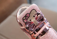 chaussure hello kitty strass LED