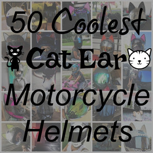 50 Coolest CAT EAR Motorcycle Helmets
