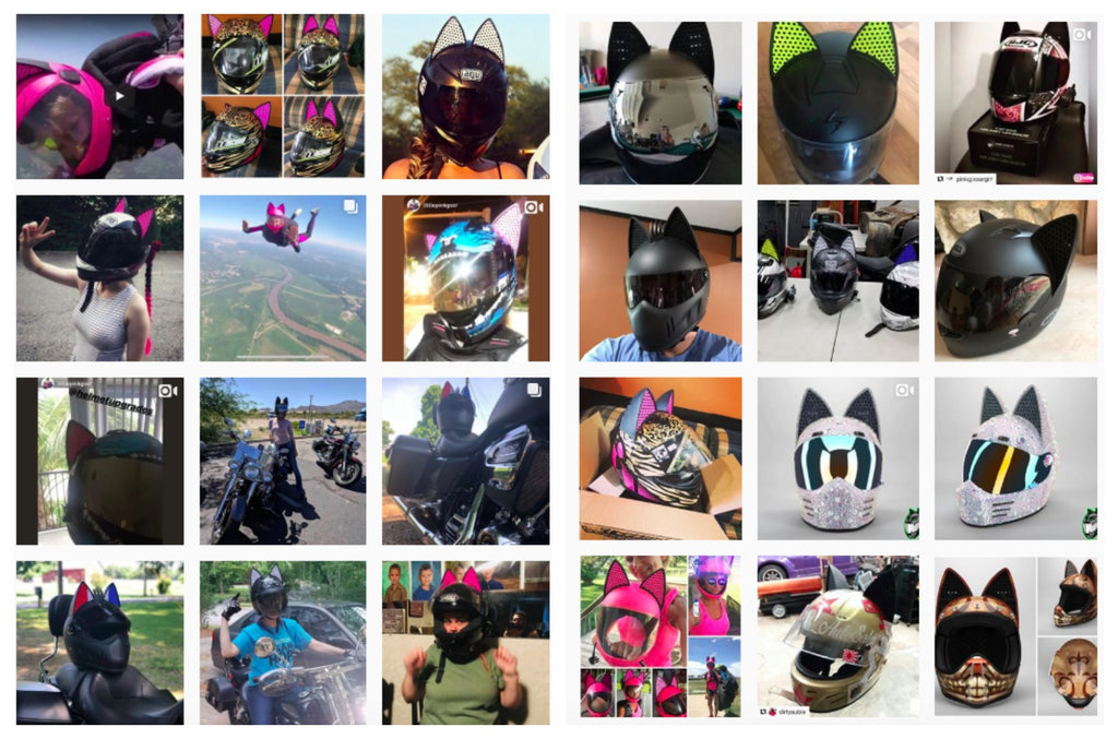 Large Collection of Cat Ear Upgrade Customers