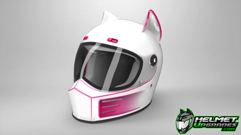Cat Ear Racer Upgrade on the Simpson Street Bandit Helmet