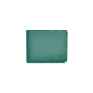Taku_and_Grace_Leather_Wallet_Haru_Bifold_Evergreen_front_view