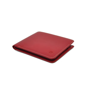 Taku_and_Grace_Leather_Wallet_Haru_Bifold_Oxblood_side_view