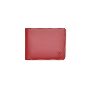Taku_and_Grace_Leather_Wallet_Haru_Bifold_Oxblood_front_view